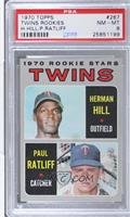 Herman Hill, Paul Ratliff [PSA 8]