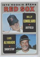 1970 Rookie Stars - Billy Conigliaro, Luis Alvarado