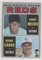 Danny Breeden, Bernie Carbo [GoodtoVG‑EX]