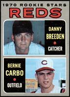 Danny Breeden, Bernie Carbo [EX+]