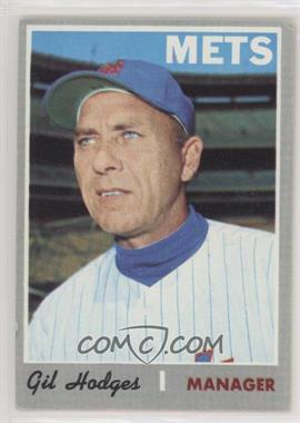 1970 Topps - [Base] #394 - Gil Hodges [Good to VG‑EX]