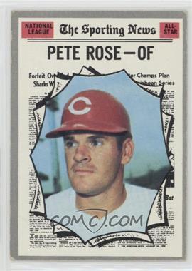 1970 Topps - [Base] #458 - Pete Rose [PoortoFair]