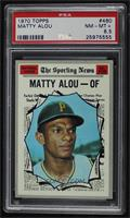 Matty Alou [PSA 8.5 NM‑MT+]