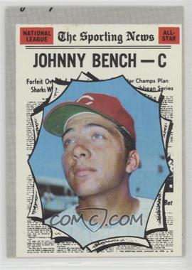 1970 Topps - [Base] #464 - Johnny Bench