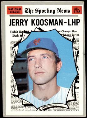 1970 Topps - [Base] #468 - Jerry Koosman [GOOD]