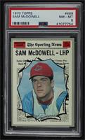Sam McDowell [PSA 8 NM‑MT]