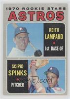 1970 Rookie Stars - Keith Lampard, Scipio Spinks