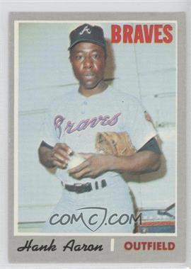 1970 Topps - [Base] #500 - Hank Aaron