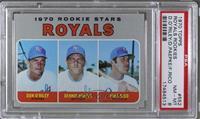 1970 Rookie Stars - Don O'Riley, Dennis Paepke, Fred Rico [PSA8NM&#…