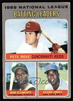 National League Batting Leaders (Pete Rose, Roberto Clemente, Cleon Jones) [FAI…