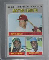 National League Batting Leaders (Pete Rose, Roberto Clemente, Cleon Jones) [Alt…