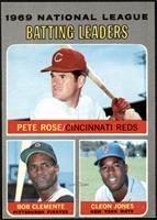 Pete Rose, Roberto Clemente, Cleon Jones [VGEX]
