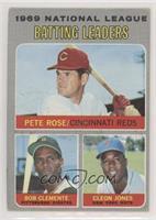 Pete Rose, Roberto Clemente, Cleon Jones [NoneGoodtoVG‑…