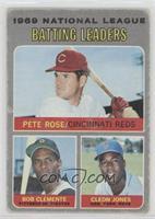 Pete Rose, Roberto Clemente, Cleon Jones [PoortoFair]