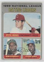 Pete Rose, Roberto Clemente, Cleon Jones [NonePoortoFair]