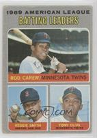 American League Batting Leaders (Rod Carew, Reggie Smith, Tony Oliva) [Poor&nbs…