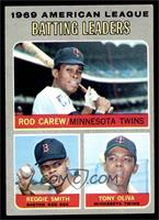 American League Batting Leaders (Rod Carew, Reggie Smith, Tony Oliva) [EX]