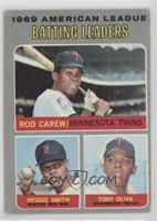 American League Batting Leaders (Rod Carew, Reggie Smith, Tony Oliva) [Good&nbs…