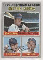 Rod Carew, Reggie Smith, Tony Oliva