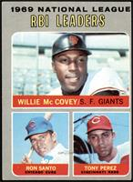 Willie McCovey, Ron Santo, Tony Perez [VGEX]