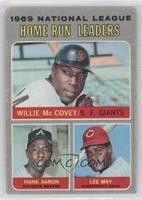 1969 National League Home Run Leaders (Willie McCovey, Hank Aaron, Lee May) [Po…