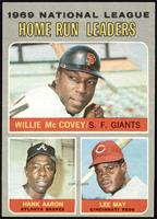 Willie McCovey, Hank Aaron, Lee May [NM]