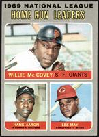 Willie McCovey, Hank Aaron, Lee May [EXMT]