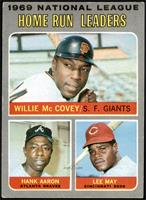 Willie McCovey, Hank Aaron, Lee May [VGEX+]