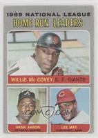 Willie McCovey, Hank Aaron, Lee May [GoodtoVG‑EX]