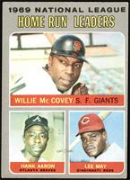 Willie McCovey, Hank Aaron, Lee May [VGEX]