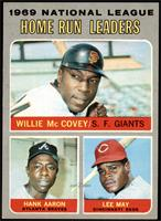 Willie McCovey, Hank Aaron, Lee May [NM MT]