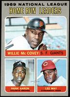 Willie McCovey, Hank Aaron, Lee May [EX]