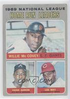Willie McCovey, Hank Aaron, Lee May [PoortoFair]