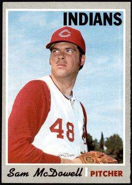 1970 Topps - [Base] #650 - High # - Sam McDowell [NM]