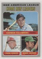 Frank Howard, Reggie Jackson, Harmon Killebrew [Good to VG‑EX]