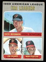 Dick Bosman, Jim Palmer, Mike Cuellar [GOOD]