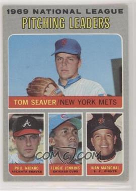 1970 Topps - [Base] #69 - Tom Seaver, Phil Niekro, Fergie Jenkins, Juan Marichal [GoodtoVG‑EX]