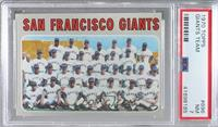 High # - San Francisco Giants Team [PSA7NM]