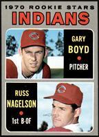 1970 Rookie Stars - Gary Boyd, Russ Nagelson [NMMT]