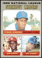 Fergie Jenkins, Bob Gibson, Bill Singer [NM]