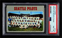 High # - Seattle Pilots Team [PSA 8 NM‑MT]
