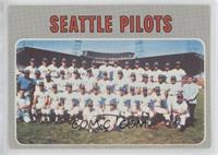 High # - Seattle Pilots Team [Poor to Fair]