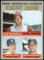 Sam McDowell, Mickey Lolich, Andy Messersmith [NMMT]