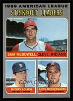 Strikeout Leaders (Sam McDowell, Mickey Lolich, Andy Messersmith) [NMMT]