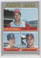 Strikeout Leaders (Sam McDowell, Mickey Lolich, Andy Messersmith) [Good to…