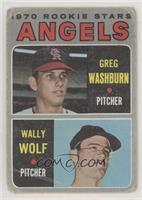 1970 Rookie Stars - Greg Washburn, Wally Wolf [PoortoFair]