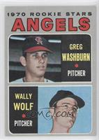 Greg Washburn, Wally Wolf