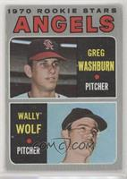 Greg Washburn, Wally Wolf