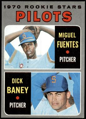 1970 Topps - [Base] #88 - 1970 Rookie Stars - Miguel Fuentes, Dick Baney [NM]