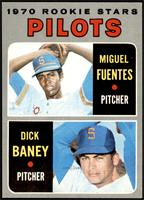 1970 Rookie Stars - Miguel Fuentes, Dick Baney [NM+]